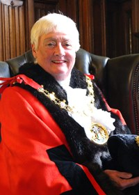 st georges day celebrations mayor carole wardle